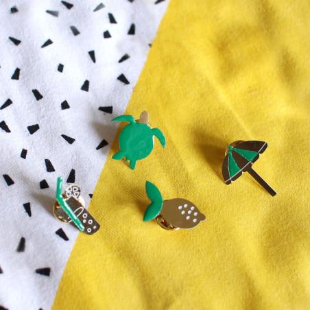Kit MKMI - Mes pin's émaillés OR