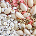 Mélange de perles heishi et de breloques - Dakar