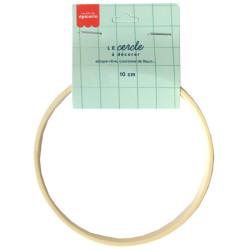 Cercle en bois à décorer - 10 cm