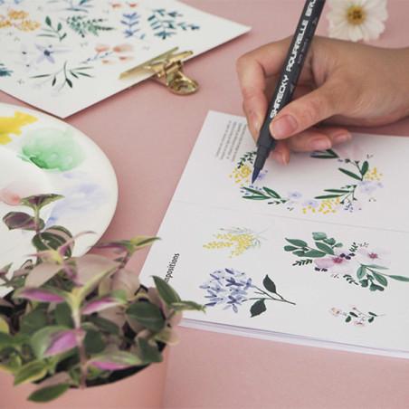 Kit MKMI - Apprendre à dessiner les fleurs