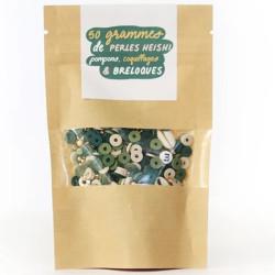 Mélange de perles heishi et de breloques - Mandalay