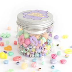 Mix de perles - Pastel