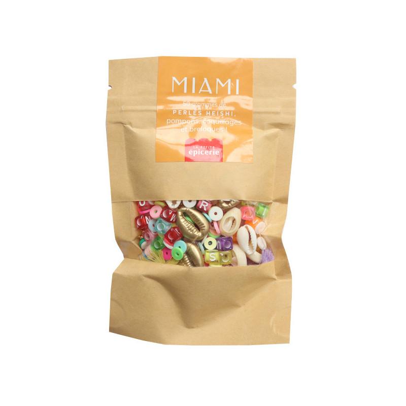 Mélange de perles heishi et de breloques - Miami