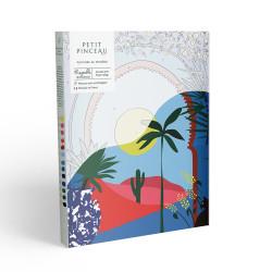 Kit de peinture au numéro - Désert parVeridis Quo