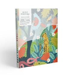 Kit de peinture au numéro - Jungle parStudio Grand Père