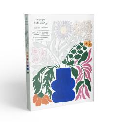 Kit de peinture au numéro - CottageFlowers par Liv Lee