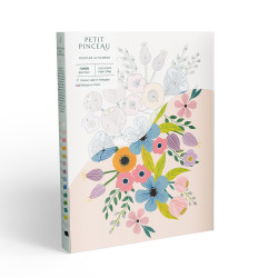 Kit de peinture au numéro - Flowers parArt.iisan