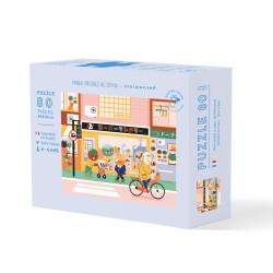Puzzle Matin Paisible au Japon par NiniWanted - 80 pièces