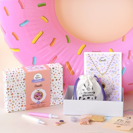 Kit bijoux gourmands - Donuts