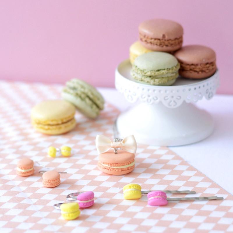Kit bijoux gourmands - Macarons