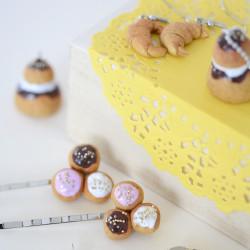 Kit bijoux gourmands - Patisseries françaises