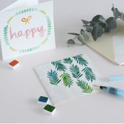Kit MKMI - Mes cartes à l'aquarelle