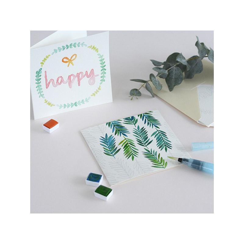 Kit MKMI - Mes cartes à l'aquarelle