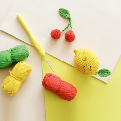 Kit MKMI - Mes fruits en amigurumi
