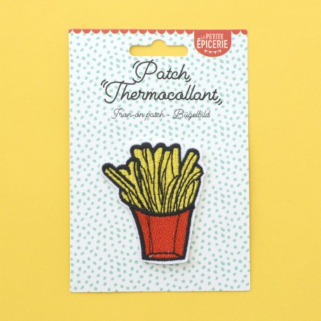 Ecusson thermocollant - FRITES