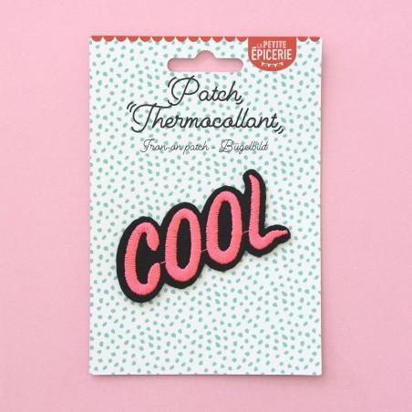 Ecusson thermocollant - COOL