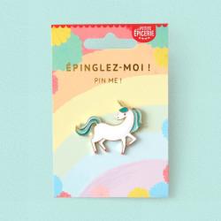 Broche pin's émaillé licorne