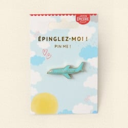 Broche pin's émaillé avion