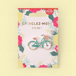 Broche pin's émaillé vélo