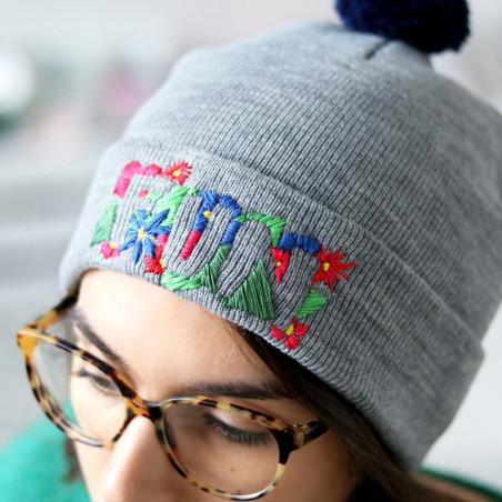 Kit MKMI - Mon bonnet à broder