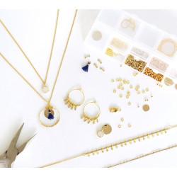 Kit MKMI - Mon atelier bijoux or