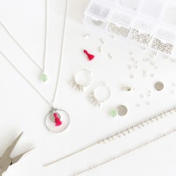 Kit MKMI - Mon atelier bijoux argent