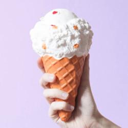 Gros squishy antistress - glace à la vanille