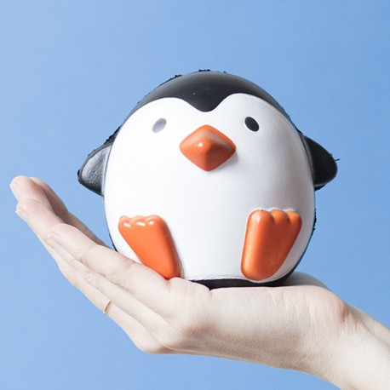 Gros squishy antistress - pingouin