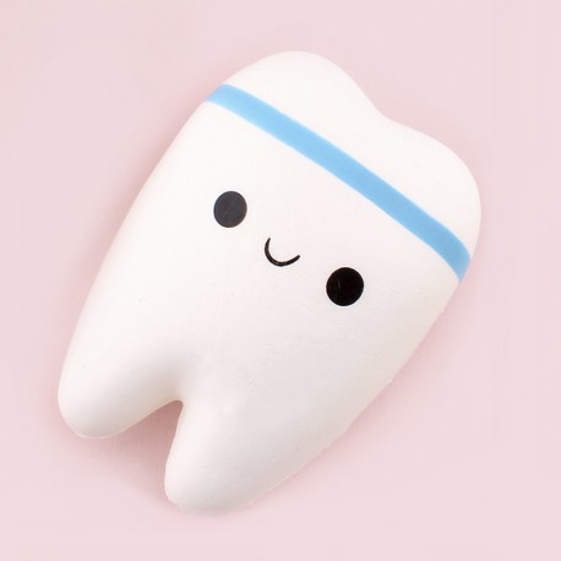 Gros squishy antistress - dent kawaii