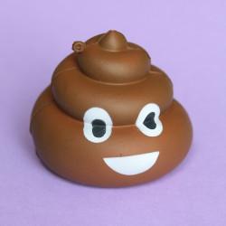 Gros squishy antistress - emoji caca