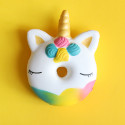 Gros squishy antistress - donuts licorne