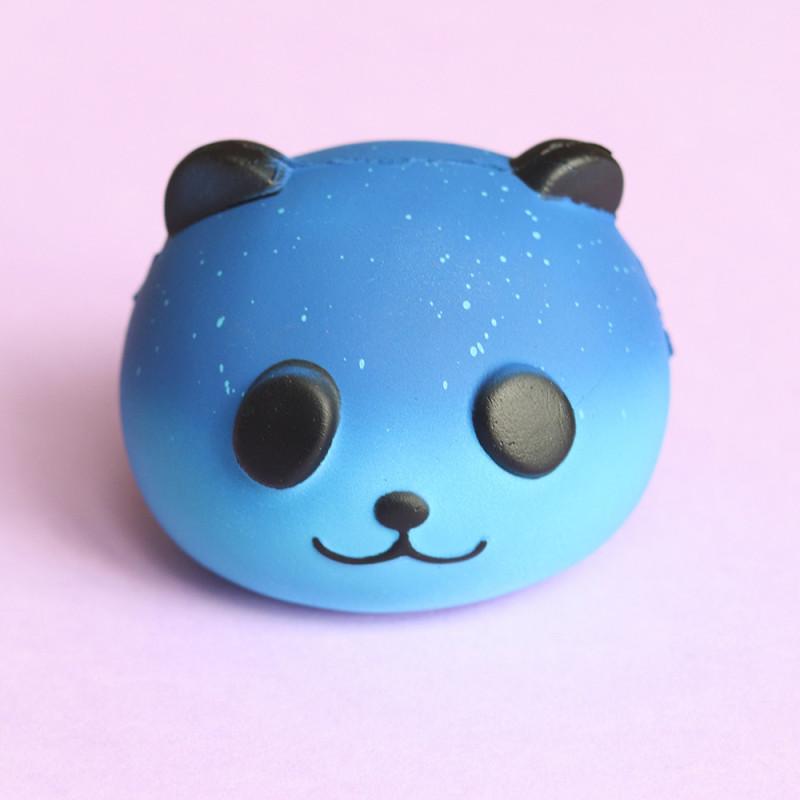 Gros squishy antistress - panda galaxy