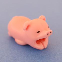 Protège cable cochon