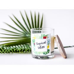 Kit bougie DIY - Tropical Vibes