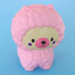 Gros squishy antistress - caniche rose