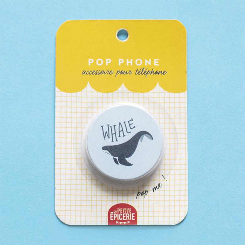 Pop phone baleine