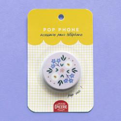 pop phone fleurs